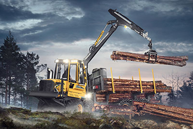 24 May 2017 | World premiere for a new forest machine from Eco Log