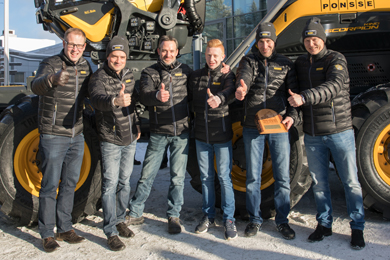 10 Mar 2017 | Ponsse's 12,000th forest machine completed