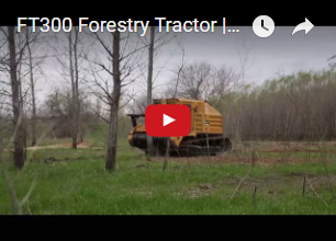 FT 300 Forestry tractor
