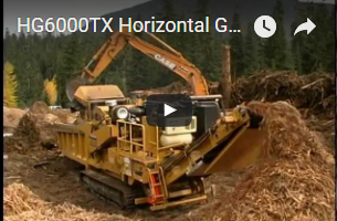 HG6000TX Horizontal Grinder | Vermeer Forestry Management Equipment