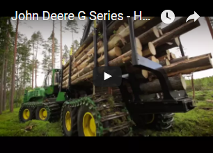 John Deere G Series – Harvester and Forwarder