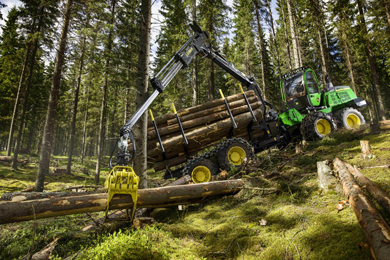 John Deere Introduces Powerful Mid-Size G-Series Forwarders | 25 August 2017