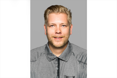 Tigercat AB Sales Specialist Kristofer Larsson  26 Oct 2017