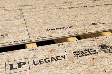 LP Building Products introduces premium sub-floor panels   25 Oct 2017