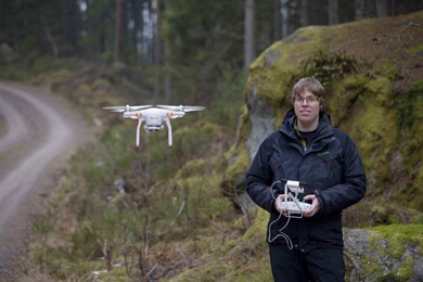 Forestry investing in drone technology & skills development | 11 Dec 2017