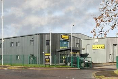 Ponsse UK Ltd opens a new facility in Annan, Scotland | 7 Dec 2017