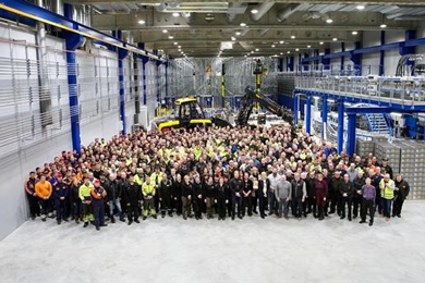 13,000th PONSSE machine celebrates extension of production facility | 26 Jan 2018