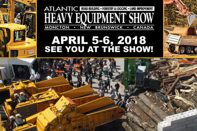 Atlantic Canada's Largest Heavy Equipment Show Gears Up for Another Big Year | 18 Jan 2018