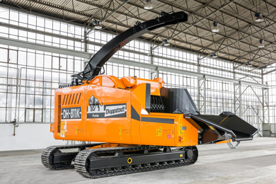 Doppstadt…Robust, Precise and Efficient Chippers