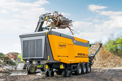 Doppstadt to showcase the INVENTHOR Type 9 shredder at IFAT