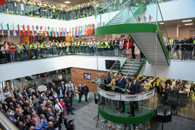 Official opening of Combilift's new €50 million global headquarters and manufacturing facility