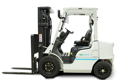 UniCarriers next-generation pneumatic diesel forklifts