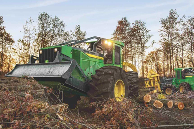 John Deere announces equipment, warranty additions to the forestry certified used program