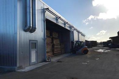 Mühlböck delivers three System 606 steam and drykilns to Hvalsoe Sawmill Denmark