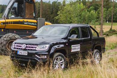Volkswagen Utility Vehicles and MAN strongly featured at the FinnMETKO show