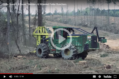 John Deere L-ll Series Skidders & Wheeled Feller Bunchers