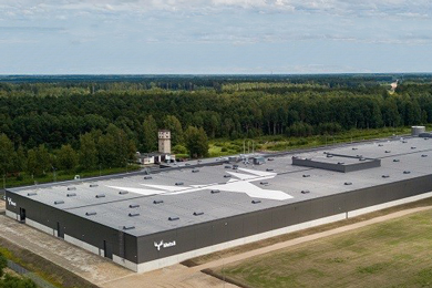Industrial production started at Metsä Wood's Pärnu birch plant