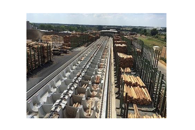 Holtec supplied log yard to Piveteau Bois in France