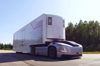 Volvo's self-driving Vera concept