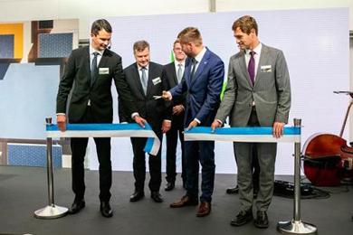 Metsä Wood inaugurates new birch plywood mill in Pärnu, Estonia
