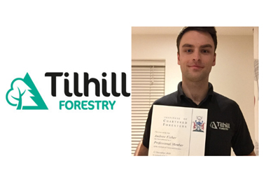Tilhill Forestry's professionalism steps up further