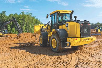 New John Deere L-Series Utility Wheel Loaders primed to take job sites by storm