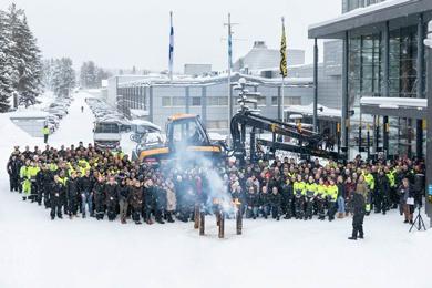 The 14,000th Ponsse Machine Built In Vieremä