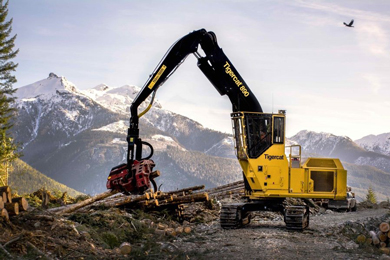 Tigercat releases largest machine in forestry line-up, the 890 logger