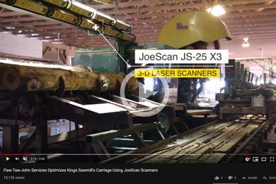 JoeScan 3D Laser Scanners