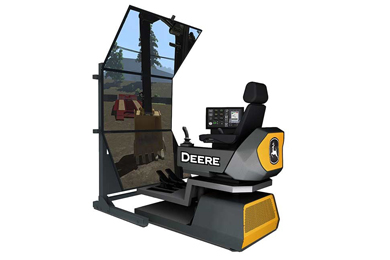 John Deere Introduces Next Generation of Construction Simulators