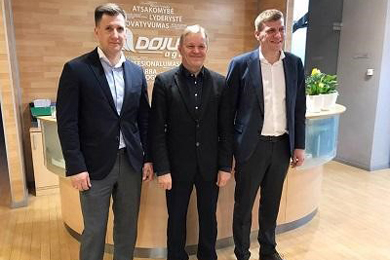 Dojus Group starts as Komatsu Forest machine dealer in Lithuania and Kaliningrad, Russia