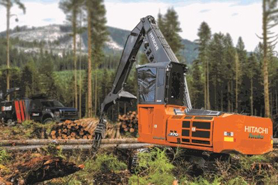Hitachi names Brandt new dealer for forestry products
