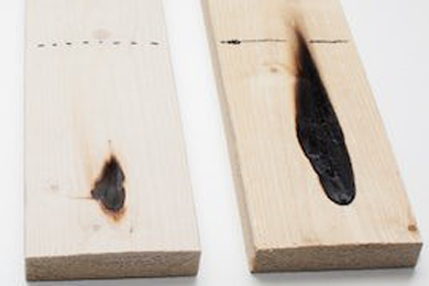 HefCel Innovation: Wood as a fire retardant