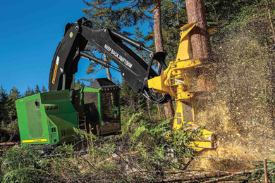 John Deere – upgrades for FR22B and FR24B Felling Heads