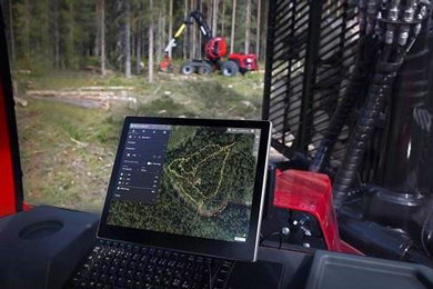 Komatsu Forest launches a new digital visual aid tool MaxiVision