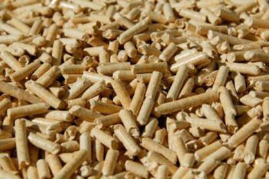 Wood pellet shipments up 21 percent