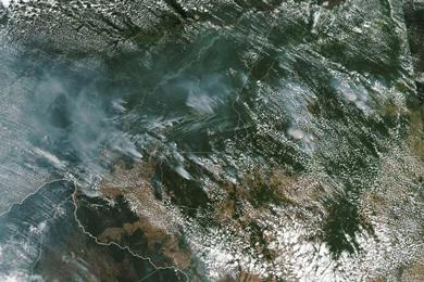 Amazon rainforest is ablaze
