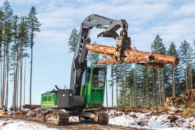 John Deere announces new forestry Swing Machine options
