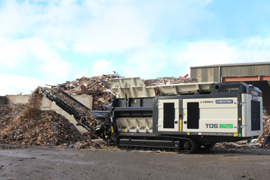 High Capacity Shredding with Terex Ecotec's