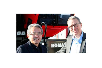 New CEO for Komatsu Forest