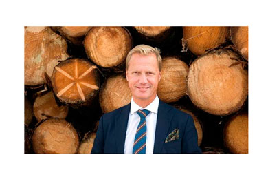 Henrik Sjölund elected Chairman of the Swedish Forest Industries Federation