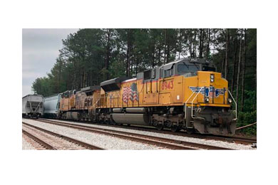 $15m rail link helps Drax reduce supply chain emissions and biomass costs