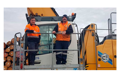 C3 ramps up in Portland with new log marshalling contract