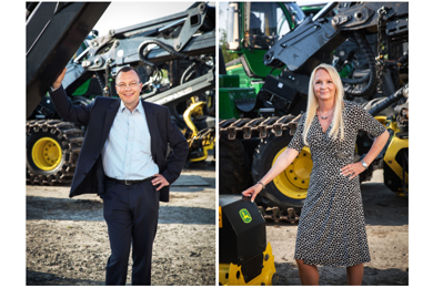 Timo Ylänen appointed Vice President, Worldwide Forestry, Deere&Company