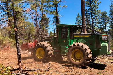 John Deere Launches Mulcher Hydraulics Conversion Kit for the 843L and 843L-II Wheeled Feller Bunchers