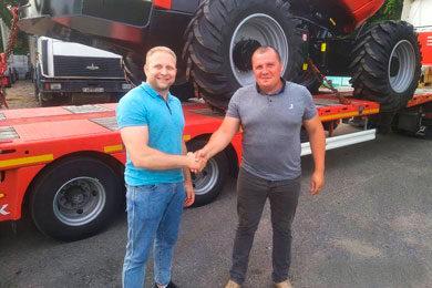 Komatsu 911 – Nine new harvesters to Belarus