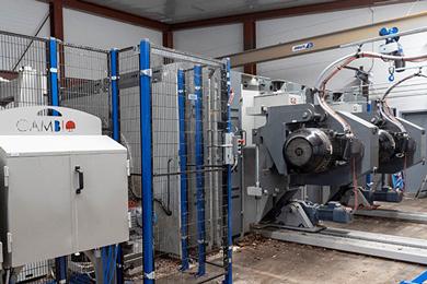 Moelven Soknabruket invests in CamShift 600 debarking system