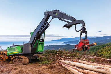John Deere To Expand TimberMatic™ Maps and TimberManager™ Job Site Visualization to include Waratah H-16 production data