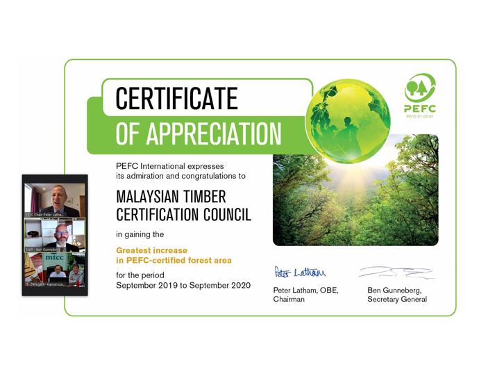 MTCC certificate