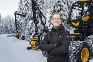Miika Soininen appointed to Ponsse Plc's management team